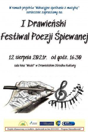 I Drawieński Festiwal Poezji Śpiewanej
